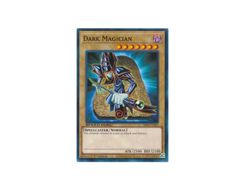 Dark Magician (SS04-ENA01) - 1st Edition