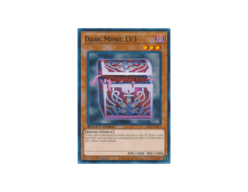 Dark Mimic LV3 (SS05-ENA17) - 1st Edition