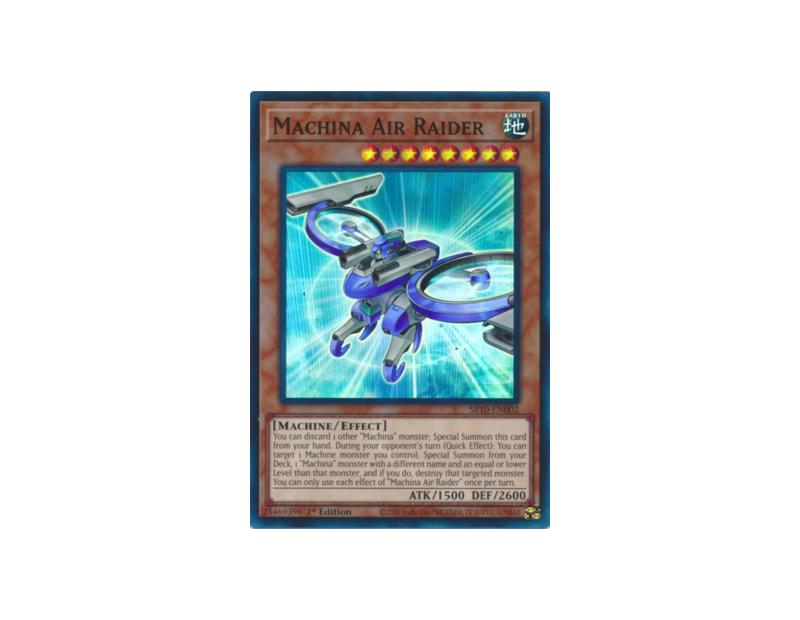 Machina Air Raider (SR10-EN002) - 1st Edition