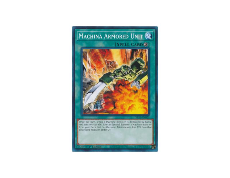 Machina Armored Unit (SR10-EN025) - 1st Edition