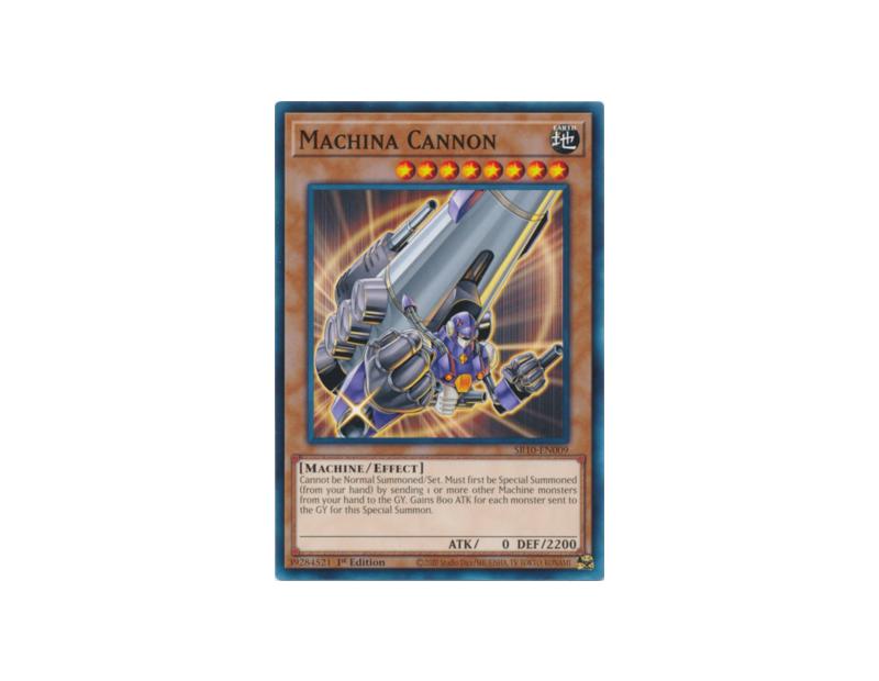 Machina Cannon (SR10-EN009) - 1st Edition