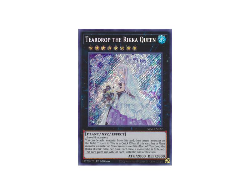 Teardrop the Rikka Queen (SESL-EN022) - 1st Edition