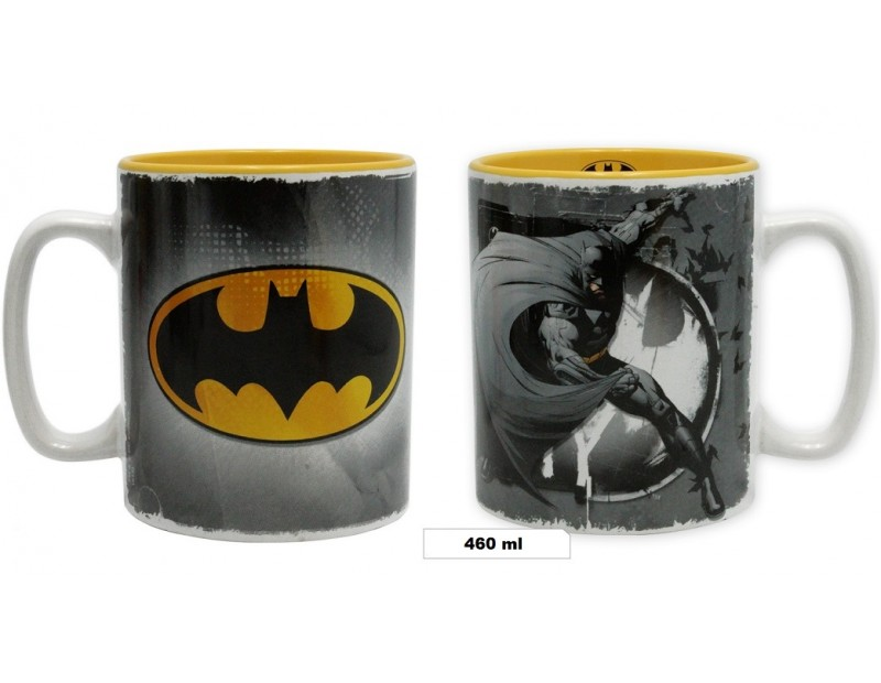 Κούπα Batman + Logo (460ml)