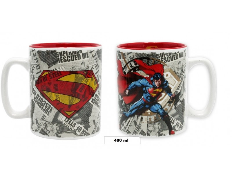 Κούπα Superman + Logo (460ml)