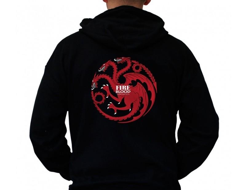 Φούτερ έμβλημα Targaryen / Fire and Blood
