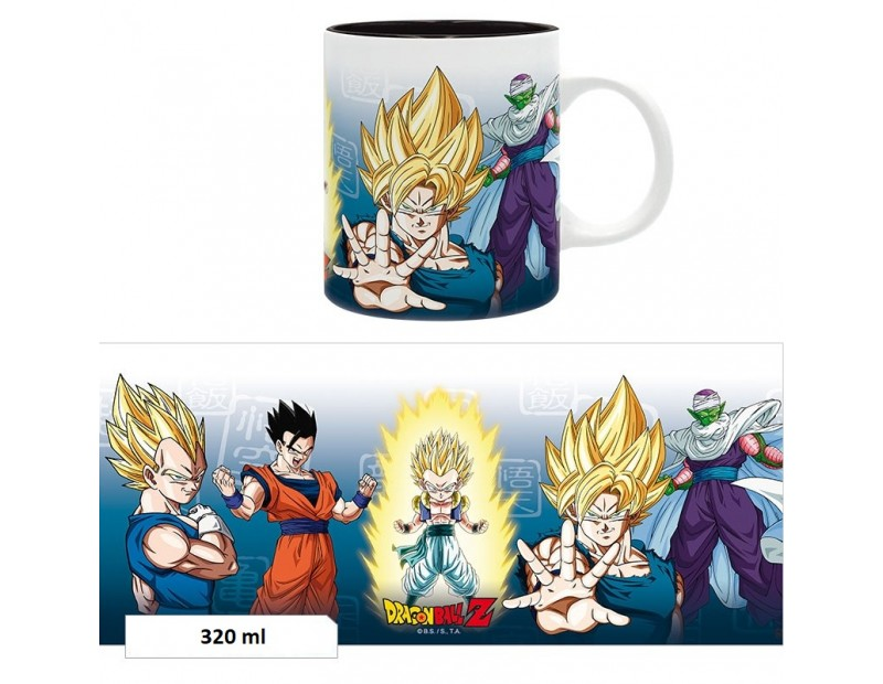 Dragon Ball - Κούπα Saiyans + Piccolo (320ml)