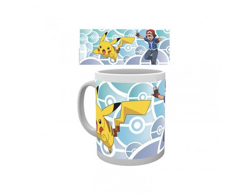 Κούπα Ash + Pikachu (300ml)