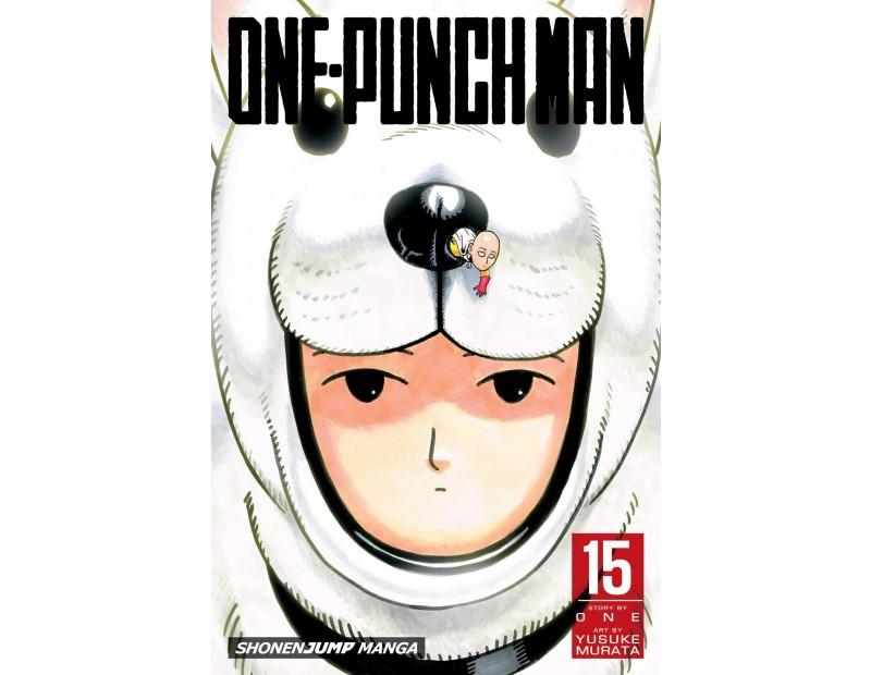 Manga One-Punch Man Τόμος 15 (English)