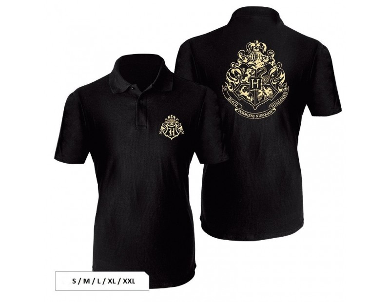 T-Shirt Hogwarts (Polo)