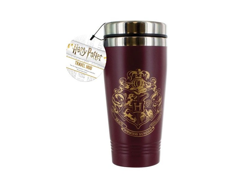 Travel Mug Hogwarts Crest (450ml)