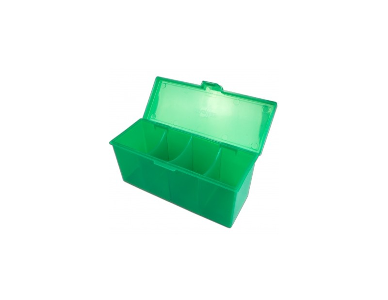 4-Compartment Storage Box Green (Blackfire)