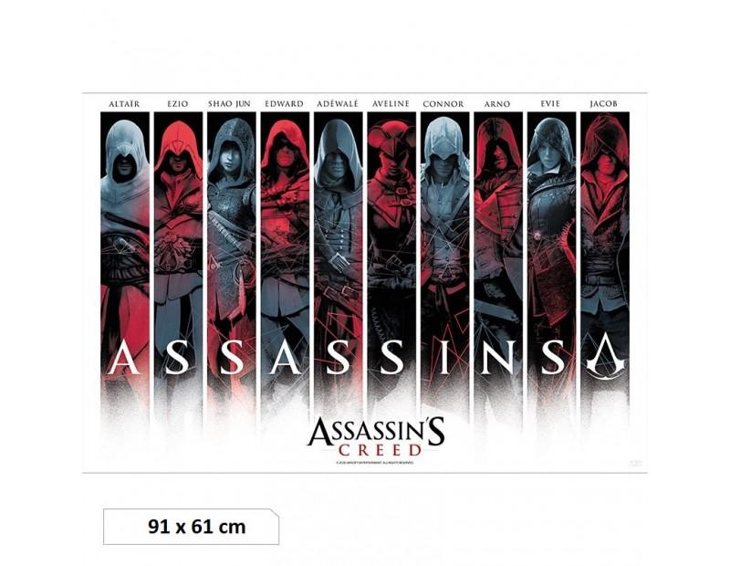 Αφίσα Assassins