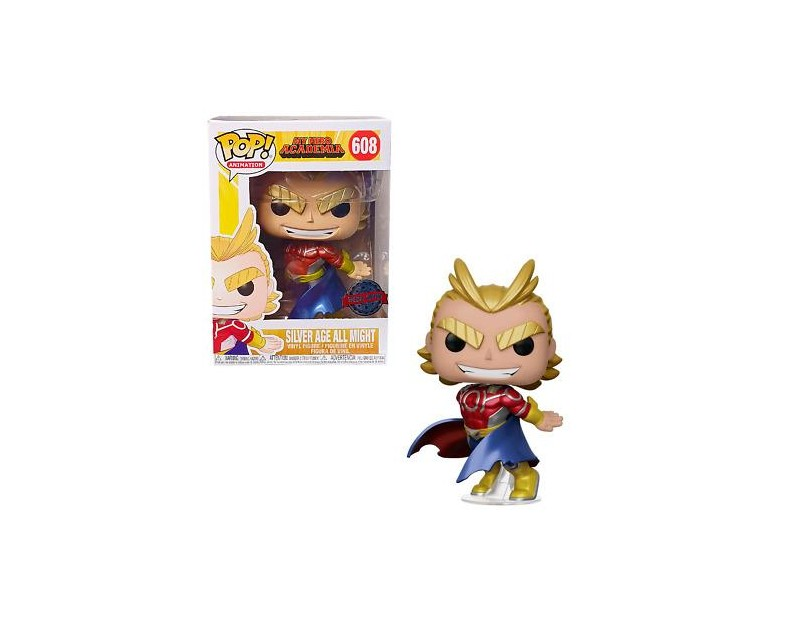 Φιγούρα All Might - Silver Age (Funko POP - Special Edition)