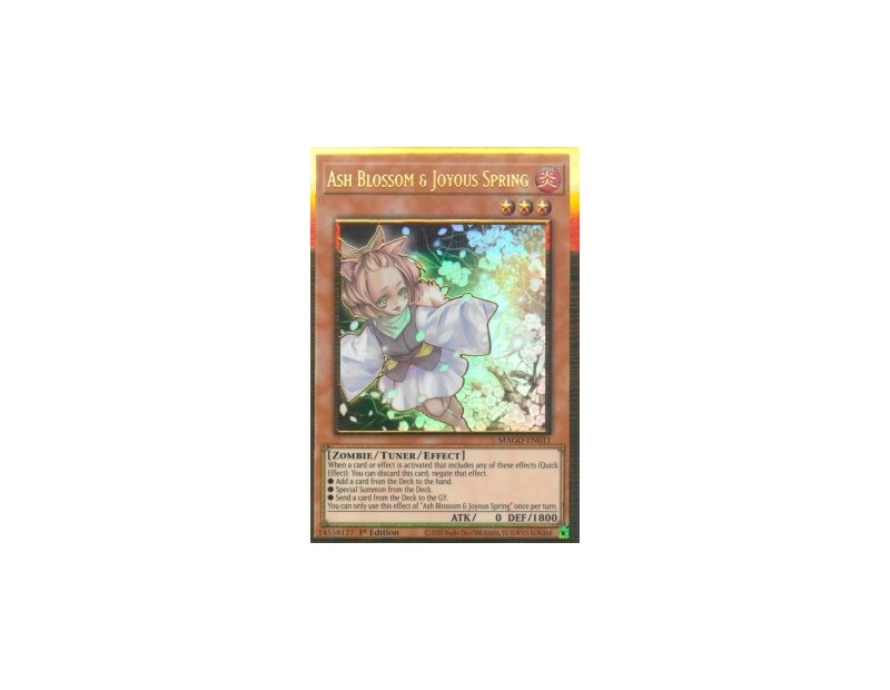 Ash Blossom & Joyous Spring (MAGO-EN011) V.1 - 1st Edition