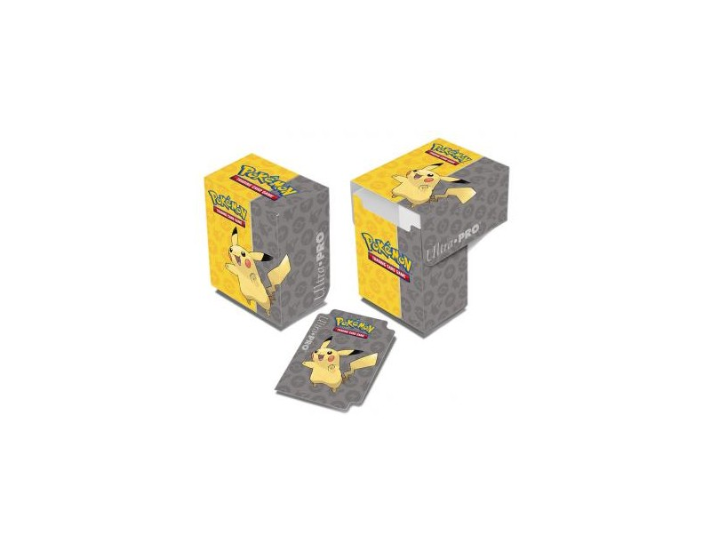 Deck Box Full View Pikachu Jump (Ultra Pro)