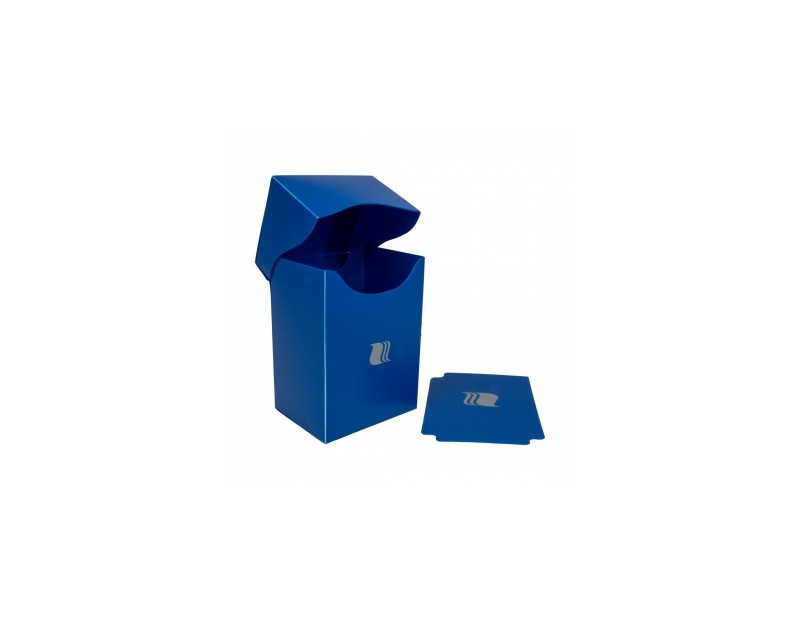 Deck Box Vertical Blue (Blackfire)