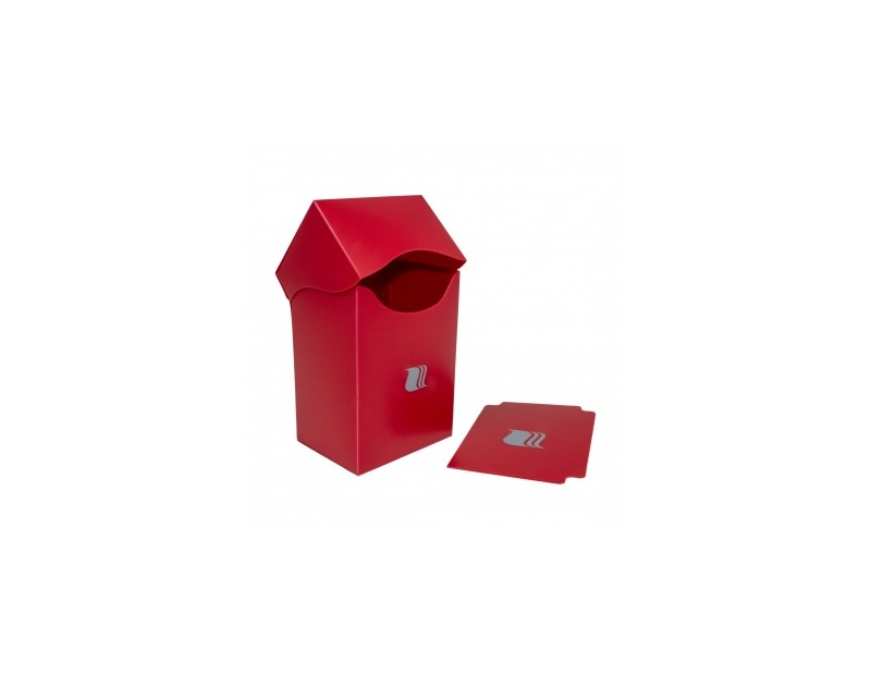 Deck Box Vertical Red (Blackfire)