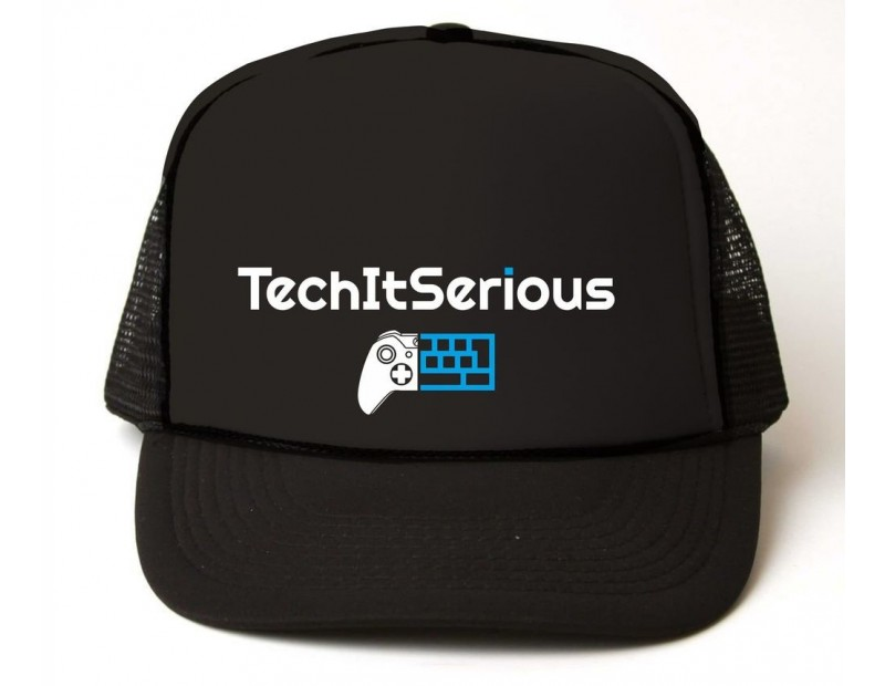 Καπέλο TechItSerious (Μαύρο)