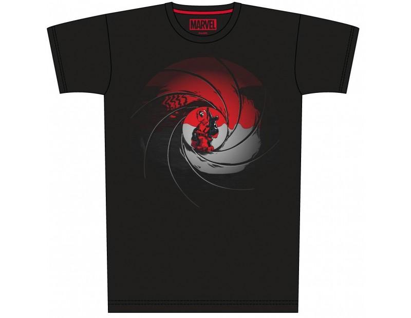 T-Shirt Deadpool Gun Barrel