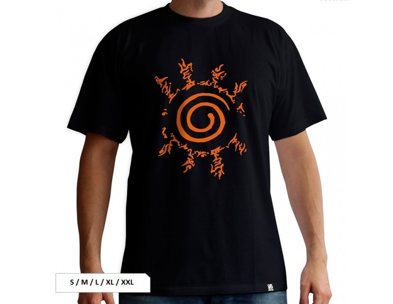 T-shirt Nine Tails Seal (Fuuinjutsu)