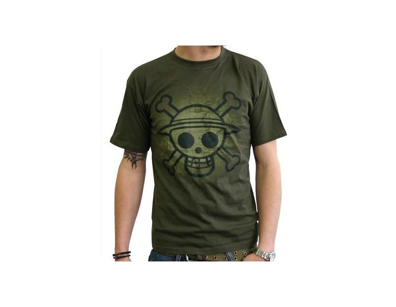 T-shirt Straw Hat Pirates (Χακί)