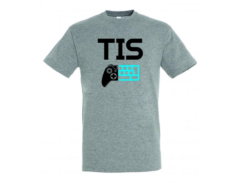 T-shirt TIS (Γκρι)