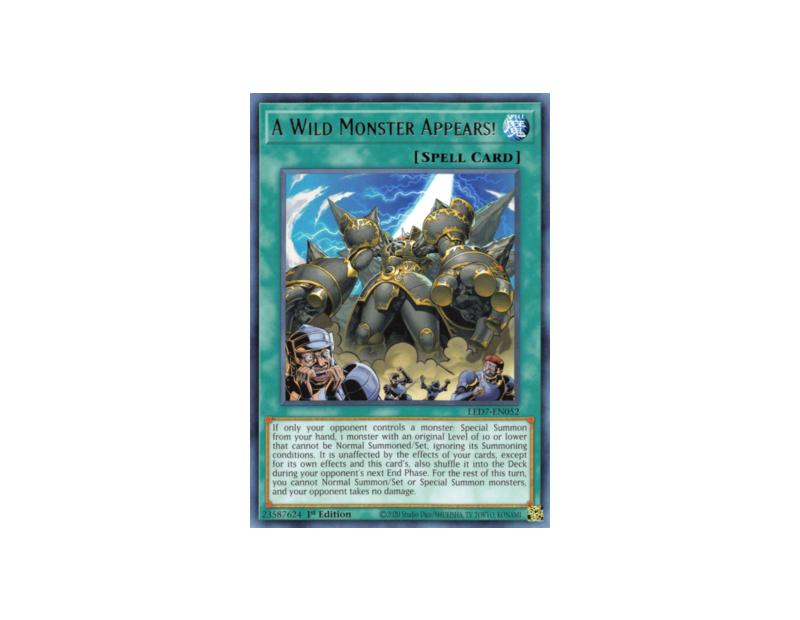 A Wild Monster Appears! (LED7-EN052) - 1st Edition