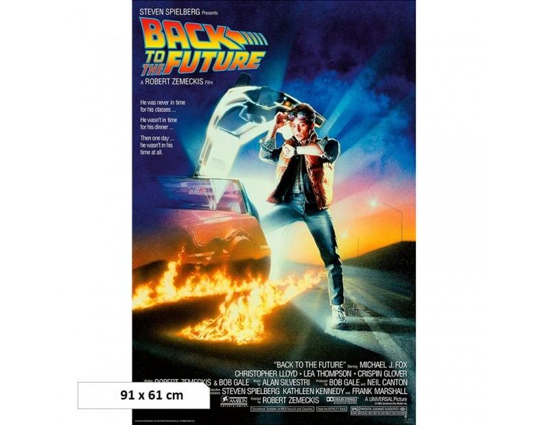 Αφίσα Back to the Future (91x61)