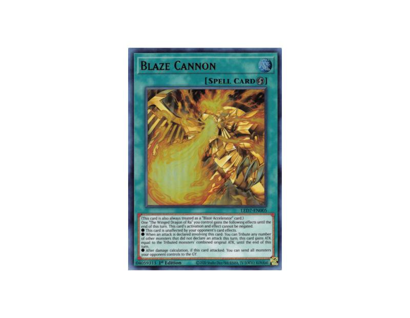 Blaze Cannon (LED7-EN005) - 1st Edition
