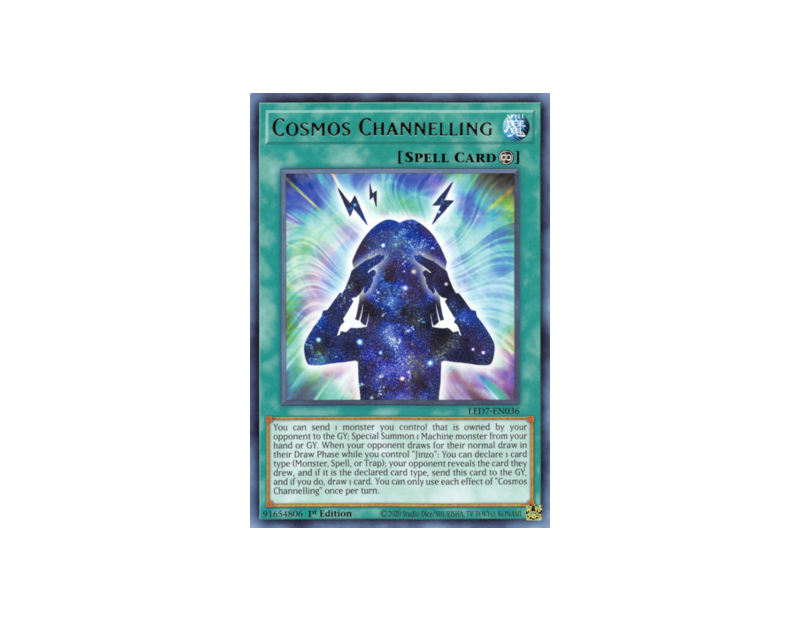 Cosmos Channelling (LED7-EN036) - 1st Edition