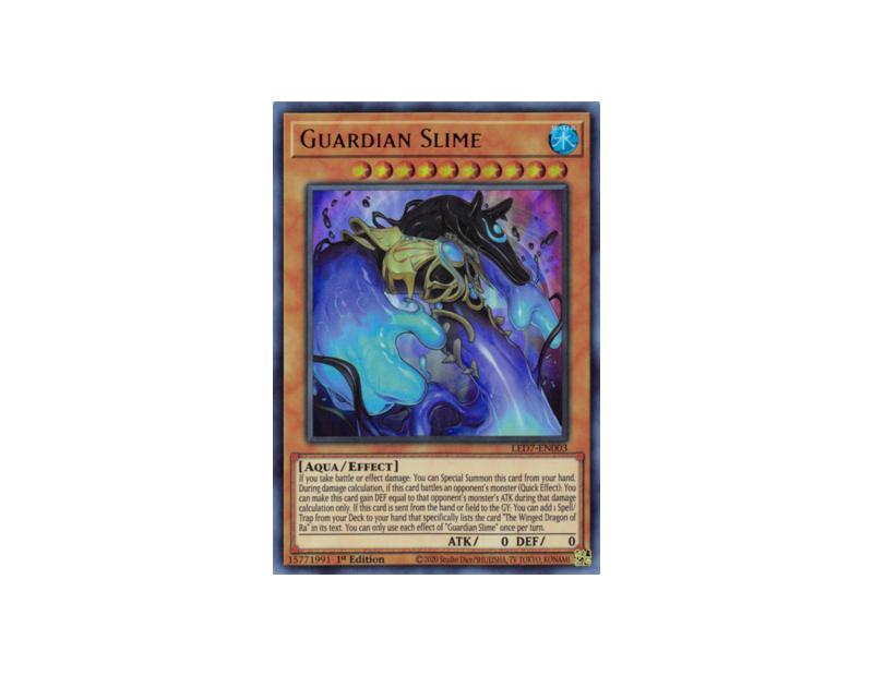 Guardian Slime (LED7-EN003) - 1st Edition
