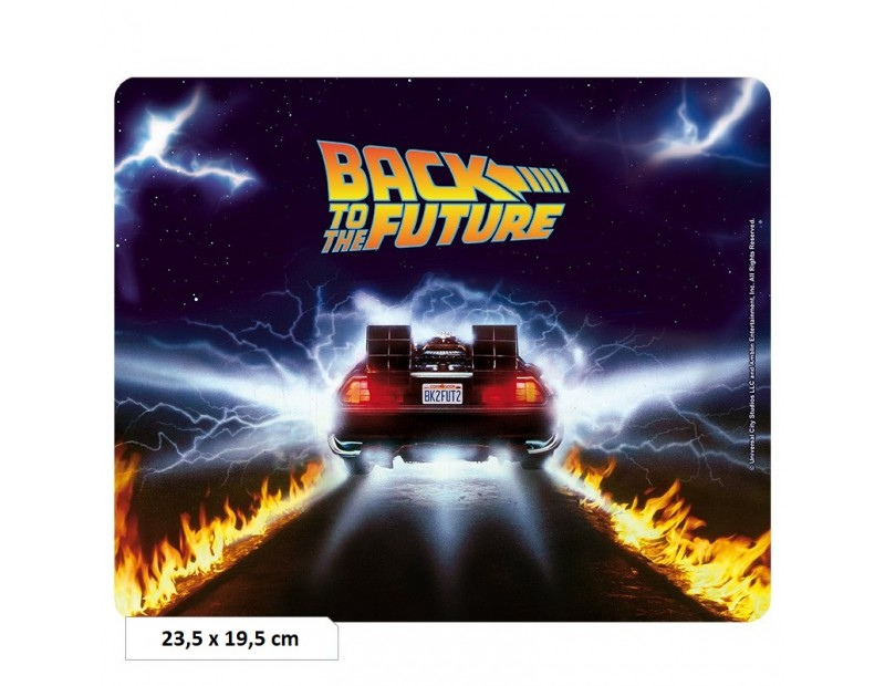 Mousepad DeLorean (Flexible)