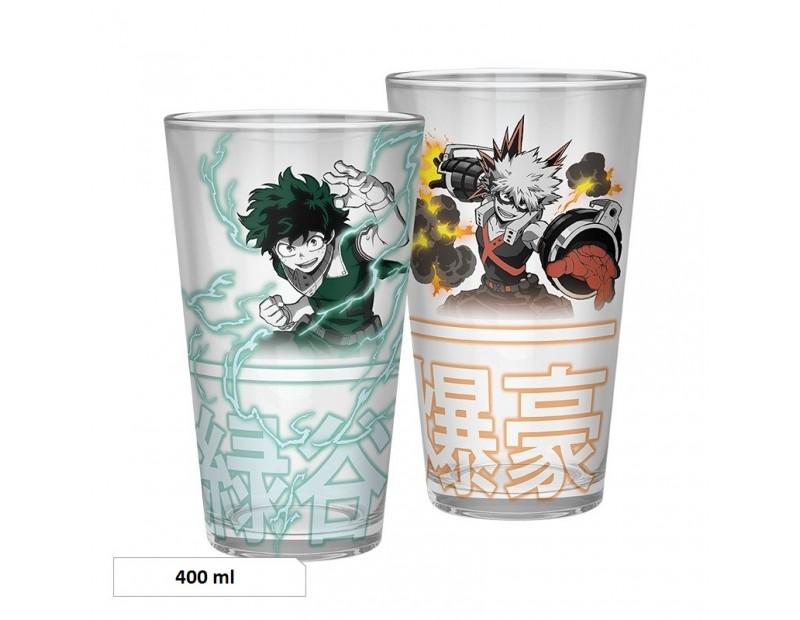 Ποτήρι Deku vs Bakugo (400ml)