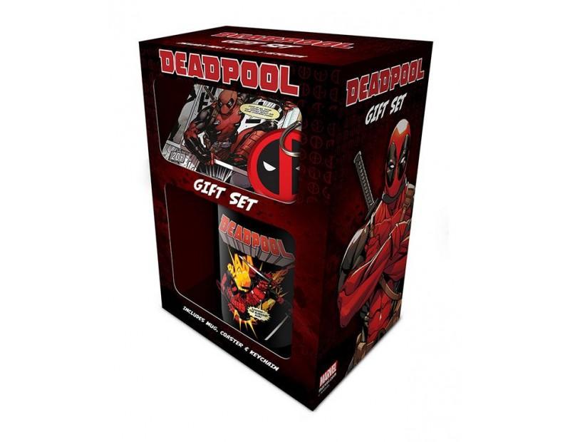 Σετ Δώρου Deadpool Merc With a Mouth