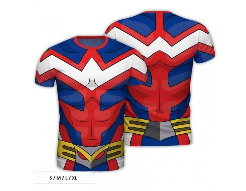 T-Shirt All Might Uniform (Full Print)