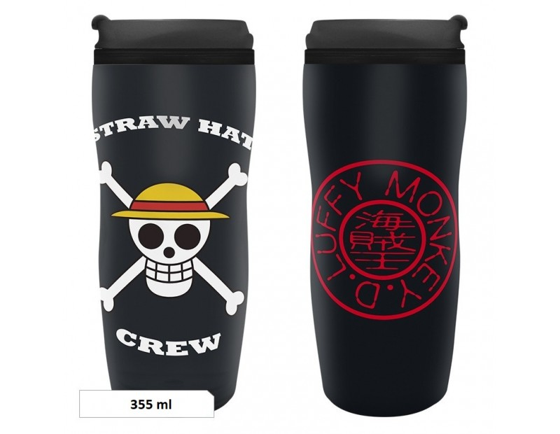 Travel Mug Straw Hat Pirates