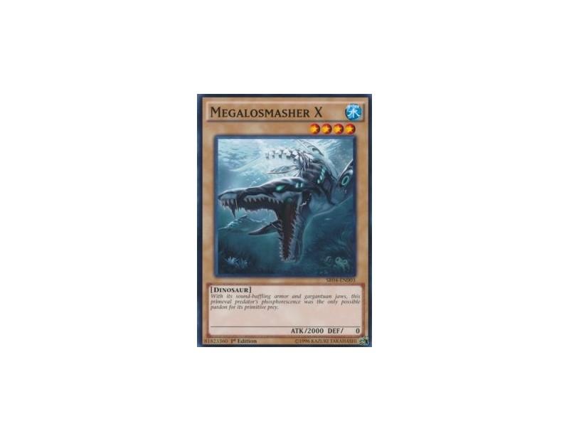 Megalosmasher X (SR04) - 1st Edition