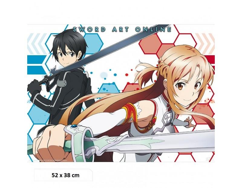 Αφίσα Asuna & Kirito (52x38)
