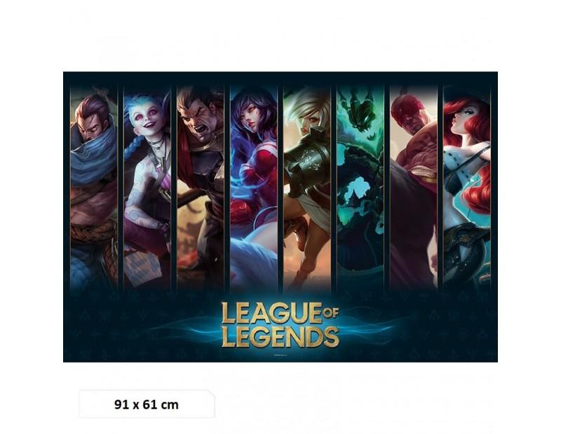 Αφίσα Champions LOL (91x61)