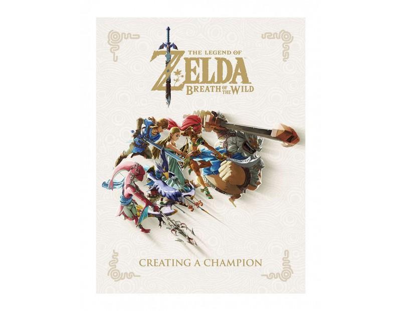 Artbook Creating A Champion (Legend of Zelda Breath of the Wild)