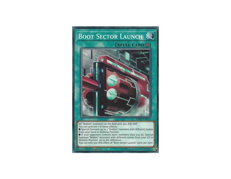 Boot Sector Launch (SDRR-EN026) - 1st Edition