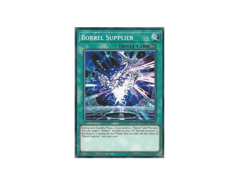 Borrel Supplier (SDRR-EN022) - 1st Edition