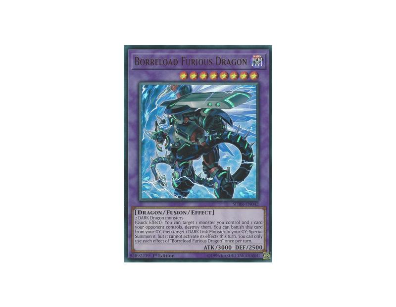 Borreload Furious Dragon (SDRR-EN042) - 1st Edition