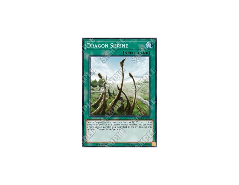 Dragon Shrine (SDRR-EN028) - 1st Edition