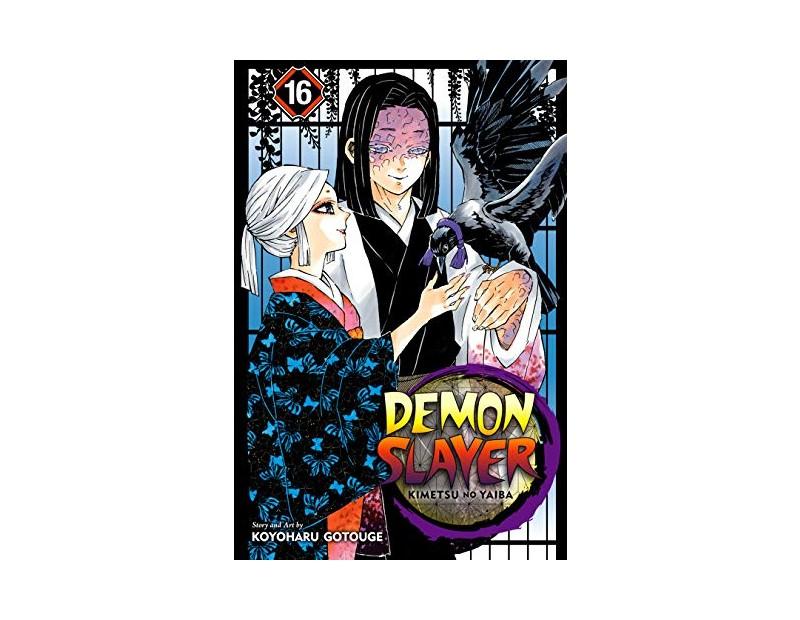 Manga Demon Slayer Τόμος 16 (English)