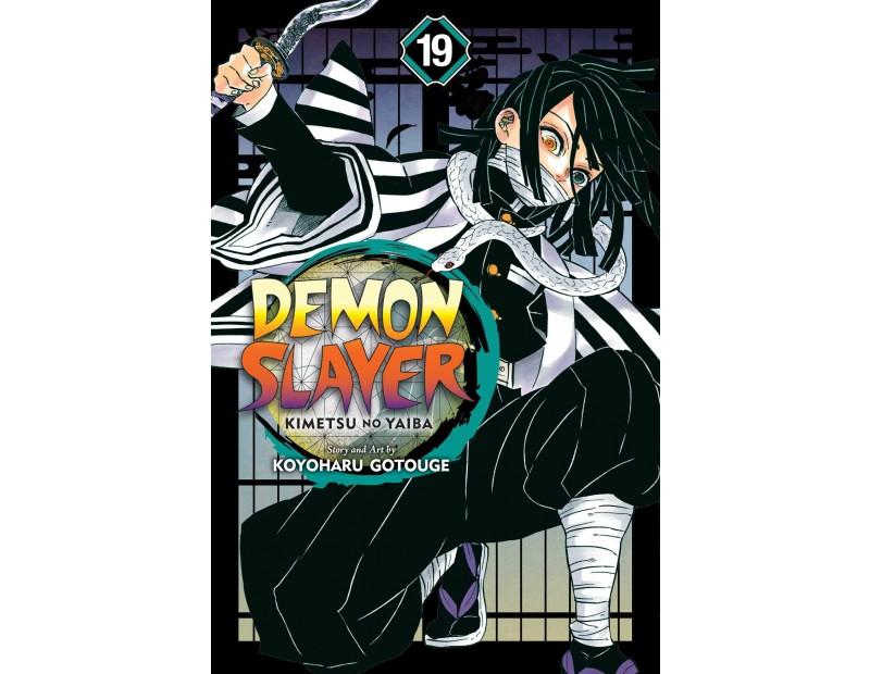 Manga Demon Slayer Τόμος 19 (English)
