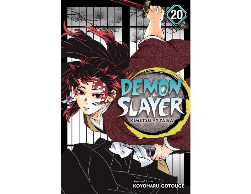 Manga Demon Slayer Τόμος 20 (English)