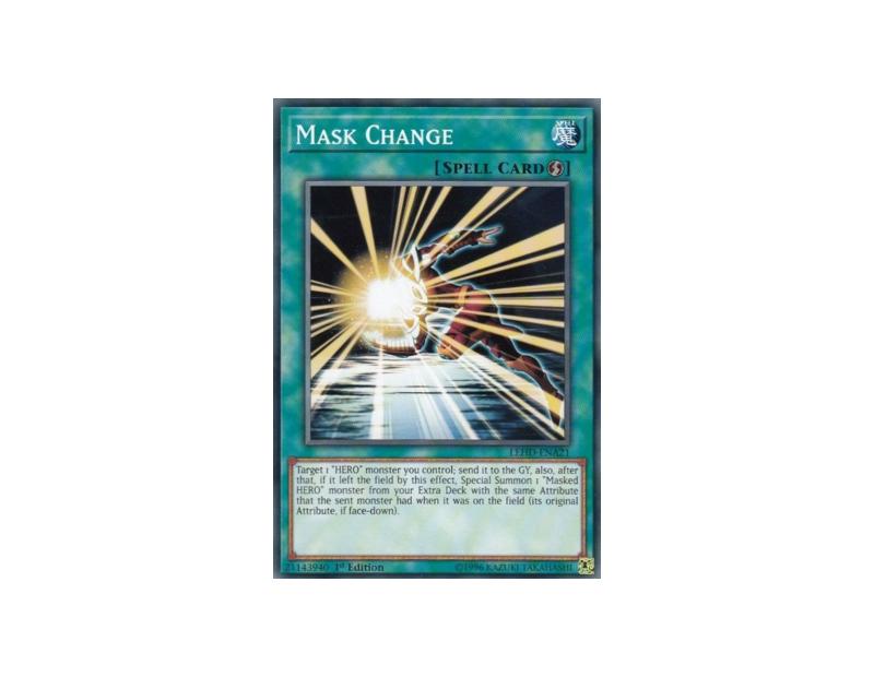 Mask Change (SDHS-EN022) - 1st Edition