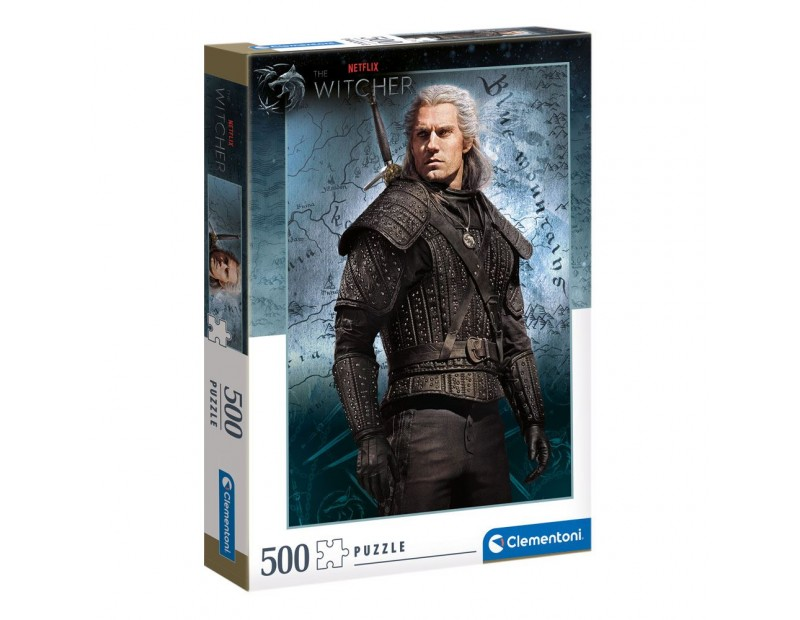 Puzzle Geralt of Rivia (500 pieces)