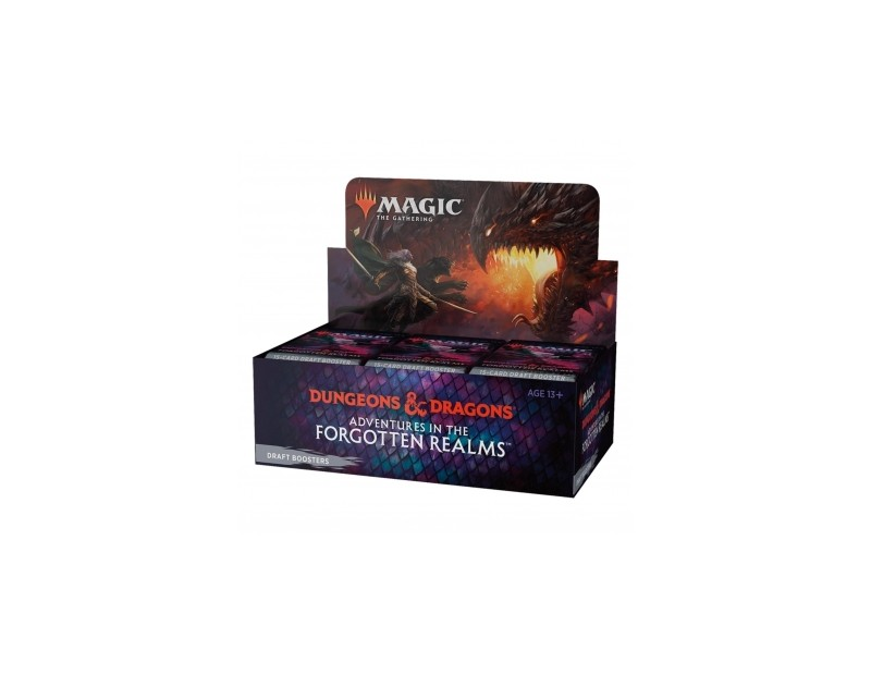 Draft Booster Display Adventures in the Forgotten Realms